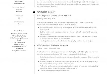 Resume-Design-You-Need-a-Resume-If-You-Are-Employed